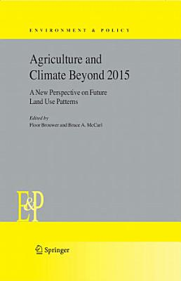 Agriculture and Climate Beyond 2015 PDF