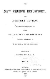Anglo-American New Church Repository and Monthly Review: 1851-Feb., 1854, Volume 5