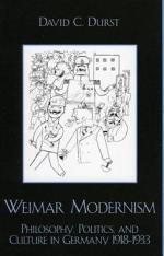 Weimar Modernism