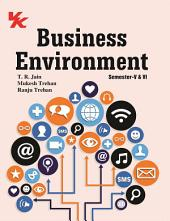 BUSINESS ENVIRONMENT: for B.Com-III Semester-V and VI