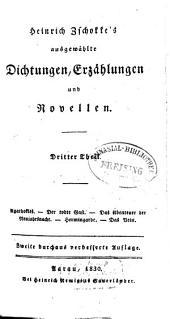 Ausgewählte Dichtungen, Erzählungen und Novellen: Agathokles. Der todte Gast. Das Abenteuer der Neujahrsnacht. Hermingarde. Das Bein, Band 3