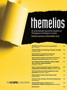 Themelios, Volume 44, Issue 3 Book