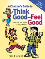A Clinician s Guide to Think Good Feel Good PDF