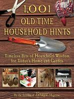 1 001 Old Time Household Hints PDF
