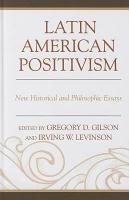 Latin American Positivism PDF