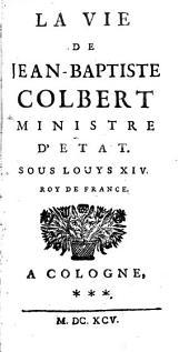 Vie de Jean-Baptiste Colbert