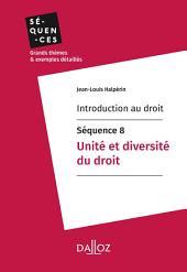 Introduction au droit - Séquence 8. Unité et diversité du droit