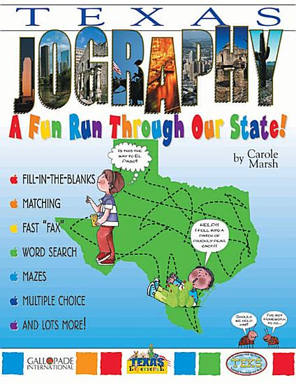 Texas  Jography   A Fun Run Through Our State PDF