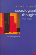 A Short History of Sociological Thought  Third Edition PDF