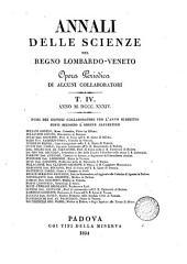 Annali delle scienze del regno Lombardo Veneto: opera periodica di alcuni collaboratori