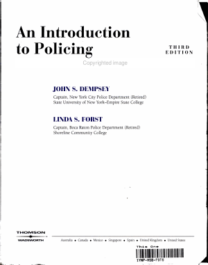 An Introduction to Policing PDF