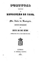 Portugal depois da revolução de 1820