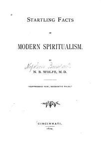 Startling Facts in Modern Spiritualism PDF