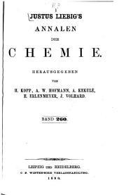 Justus Liebigs Annalen der Chemie: 1891, Band 260