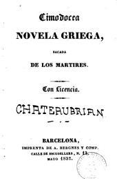 Cimodocea: novela griega, sacada de Los Mártires