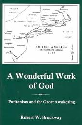 A Wonderful Work of God: Puritanism and the Great Awakening