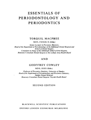 Essentials of Periodontology and Periodontics PDF