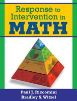 Response to Intervention in Math PDF