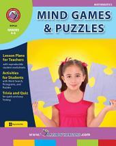 Mind Games & Puzzles Gr. 4-6
