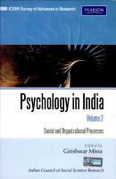 Psychology In India  Volume 2  Social And Organizational Processes PDF