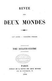 Revue des deux mondes: Volume184