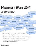 Microsoft Word 2019 in 90 Pages PDF