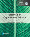 Essentials of Organizational Behavior  Global Edition PDF