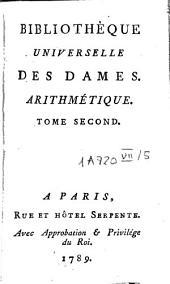 Bibliothèque universelle des dames: Mathématiques (t. 1-3: algèbre, t. 4-5: arithmétique, t. 6-7: géométrie, t. 8-9: trigonométrie). Classe 7