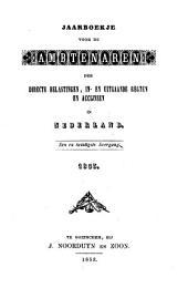 Jaarboekje voor de ambtenaren der directe belastingen, in- en uitgaande regten en accijnsen in Nederland: Volume 22