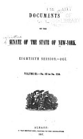 Documents of the Senate of the State of New York PDF