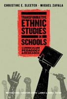 Transformative Ethnic Studies in Schools PDF