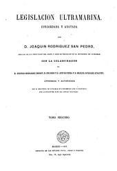 Legislacion ultramarina: -3. Gobierno
