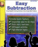 Easy Subtraction PDF