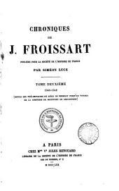 Chroniques de J. Froissart: Volume2
