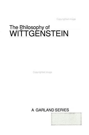 The Philosophy of Wittgenstein: Criteria
