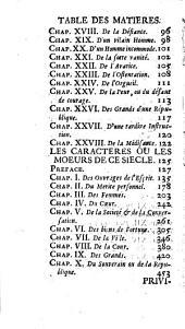 Les caracteres de Theophraste,: Discours sur Theophraste. Les caracteres de Theophraste, traduits du grec. Les caracteres ou le moeurs de ce siecle