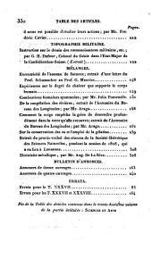 Bibliothèque universelle des sciences, belles-lettres, et arts: Sciences et arts, Volume38;Volume98