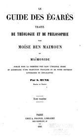 Le guide des égarés: Volume2