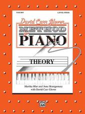 David Carr Glover Method for Piano: Theory, Level 4