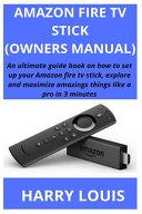 Amazon Fire TV Stick  Owners Manual  PDF