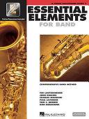 Essential elements 2000: B♭ tenor saxophone