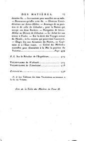 Voyage autour du monde, pendant les années 1790, 1791 et 1792 par Etienne Marchand: Volume2