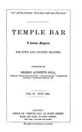 Temple Bar: Volume 2