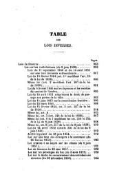 Code genevois: recueil complet et méthodique des lois de la République et canton de Genève