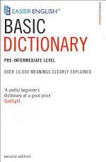 Easier English Basic Dictionary
