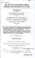H R  1753 and S  330  Methane Hydrate Research and Development Act of 1999 PDF
