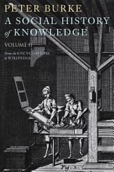 A Social History of Knowledge II PDF