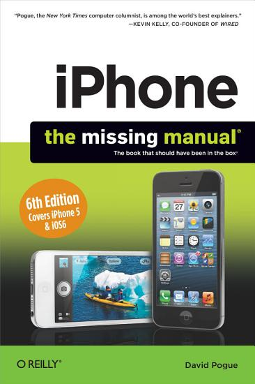 iPhone  The Missing Manual PDF
