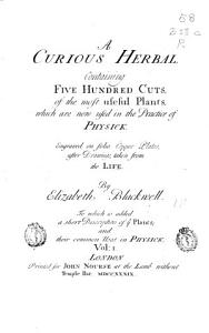 A Curious Herbal Book