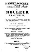 Manuels Roret  noveau manuel complet du mouler en m  dailles PDF